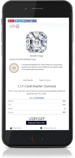 Diamond Search App For Shopify